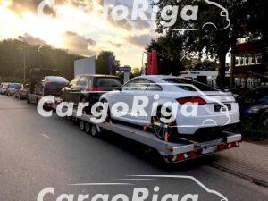 Car transporter for 3 cars