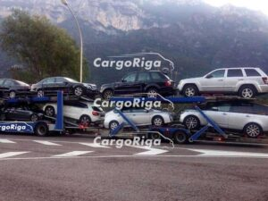 Car transporter for 8 car